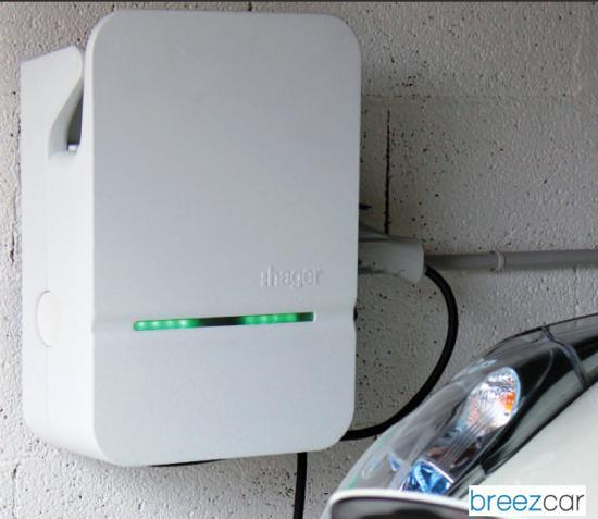 Hager Wallbox 2 prises - Bornes de recharge