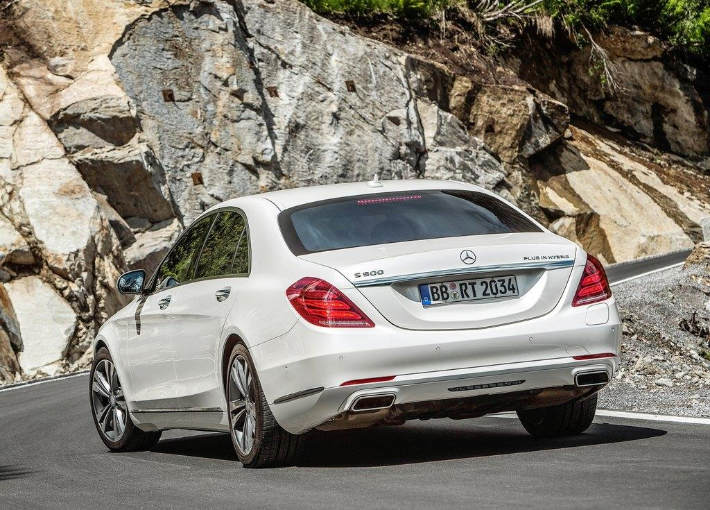 Mercedes Classe S hybride rechargeable