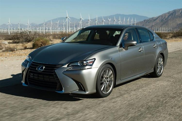 Lexus GS La Berline Hybride Renouvele Photos