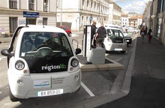 Exceptionnel La voiture électrique en région Poitou-Charentes KC08