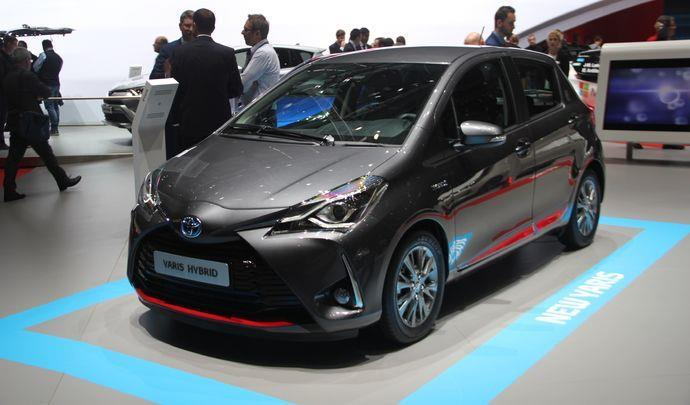toyota yaris l hybride remplace le diesel au salon de gen ve sur notre blog. Black Bedroom Furniture Sets. Home Design Ideas