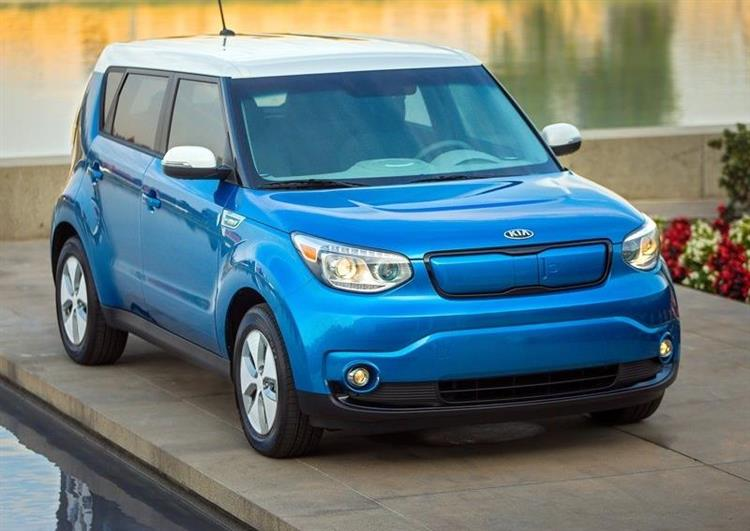 kia soul ev la voiture lectrique garantie 7 ans. Black Bedroom Furniture Sets. Home Design Ideas
