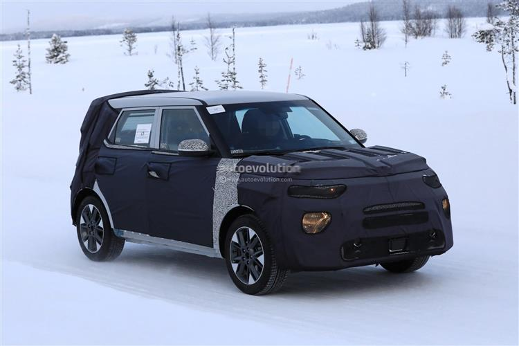 kia soul ev la prochaine g n ration avec 300 km d autonomie. Black Bedroom Furniture Sets. Home Design Ideas