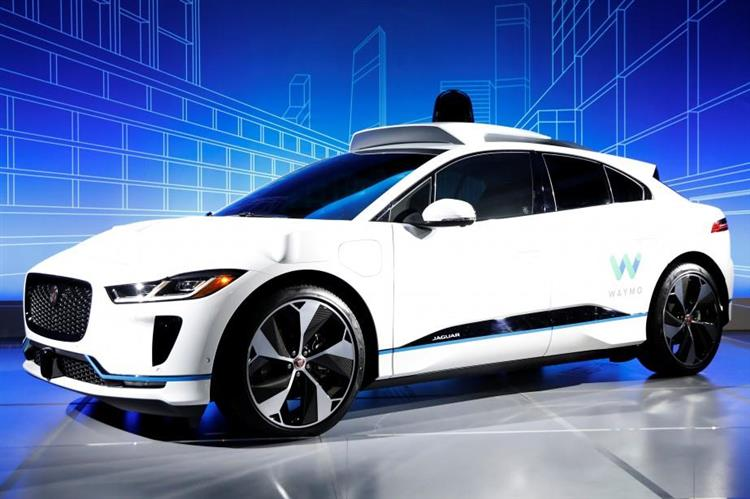 voiture autonome 20 000 jaguar i pace rejoindront le service waymo. Black Bedroom Furniture Sets. Home Design Ideas