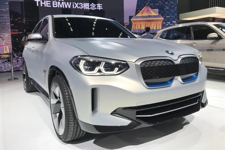 bmw ix3 le suv lectrique sera produit en chine avant d tre export. Black Bedroom Furniture Sets. Home Design Ideas