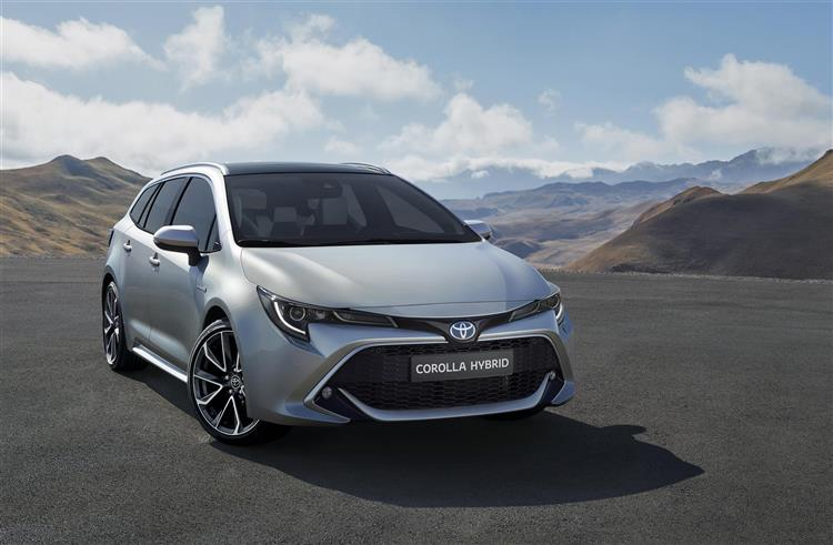 Après la berline, Toyota dévoile la version break de la Corolla baptisée Touring Sports