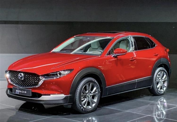Mazda CX-30 : l'hybride léger, en attendant une plus forte ...