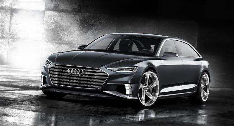 audi prologue un groupe hybride rechargeable issu du q7 e tron. Black Bedroom Furniture Sets. Home Design Ideas