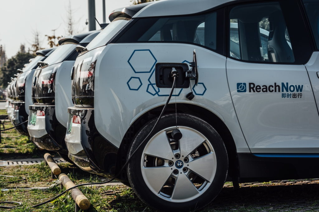BMW ReachNow Chine