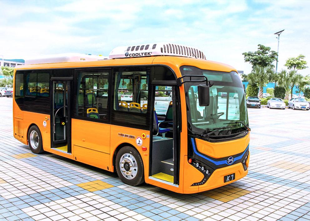 BYD bus électriques