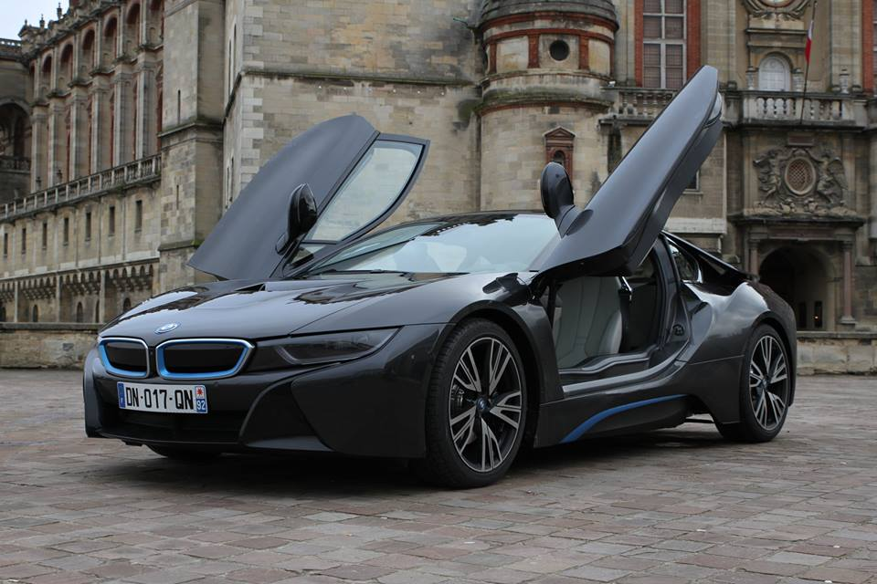 BMW i8 hybride rechargeable