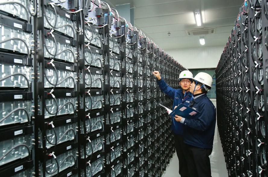 Stockage d'énergie Hyundai