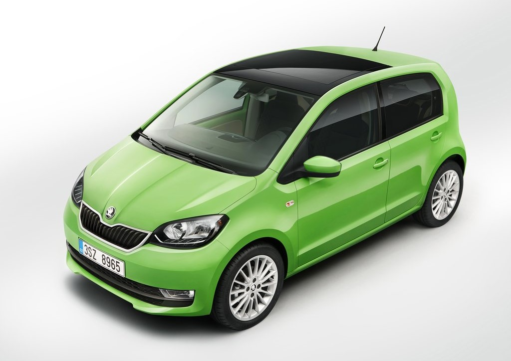 skoda sa citigo lectrique sera lanc e avant la fin 2019. Black Bedroom Furniture Sets. Home Design Ideas