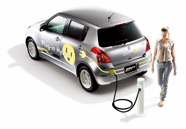 Suzuki Swift hybride rechargeable