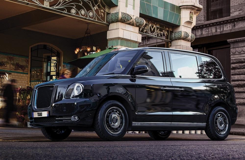 Taxi électrique Londres