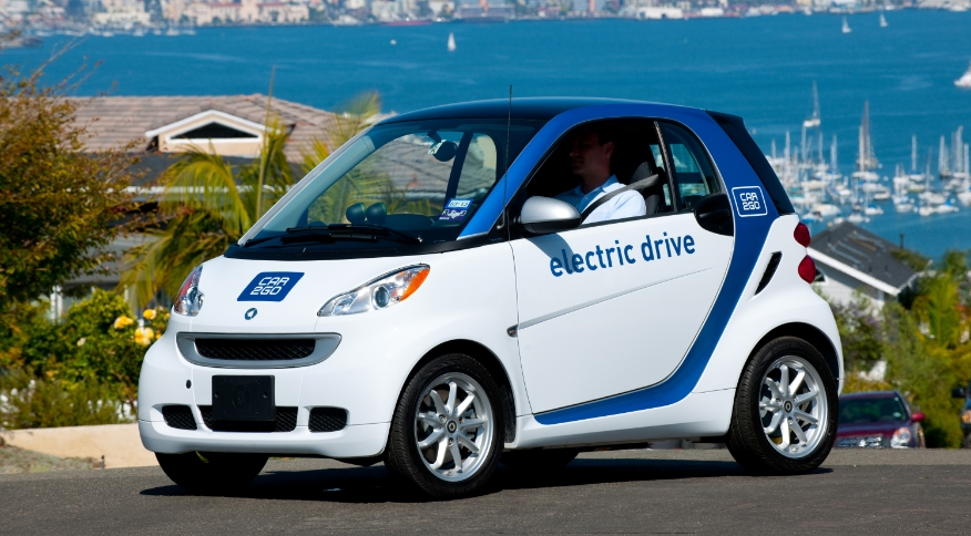smart fortwo ED <a href='/actualites/tag/car2go'>car2go</a> San Diego