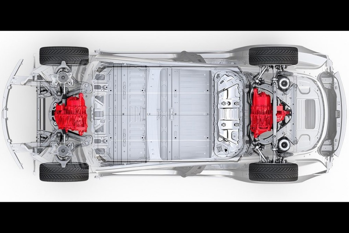Tesla Model 3 transmission intégrale