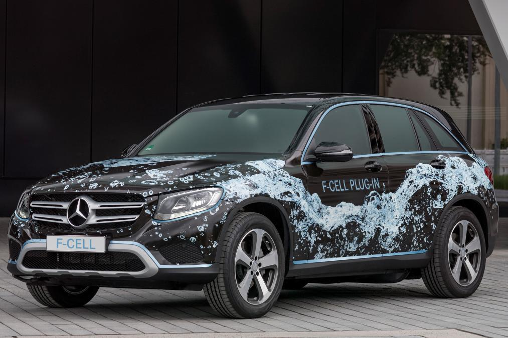 Mercedes-Benz GLC F-Cell 2017 hidrojen crossover 92