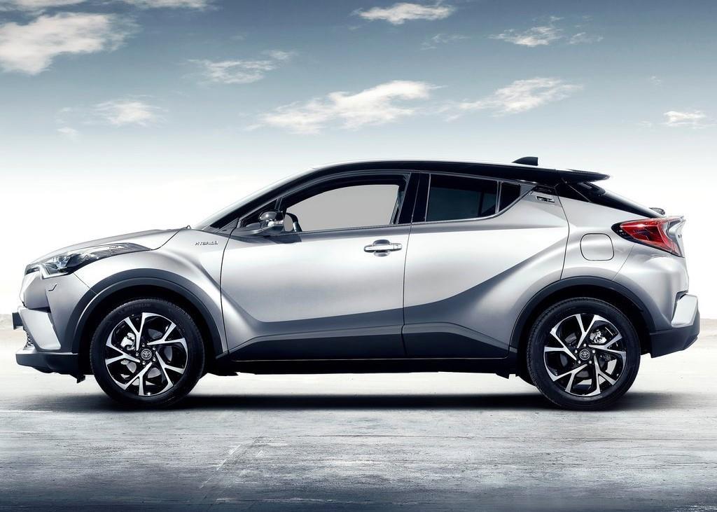 Toyota C-HR : le crossover hybride se précise (+ photos)