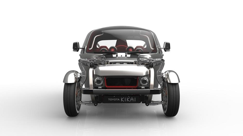 toyota kikai un buggy hybride au salon de gen ve vid o. Black Bedroom Furniture Sets. Home Design Ideas