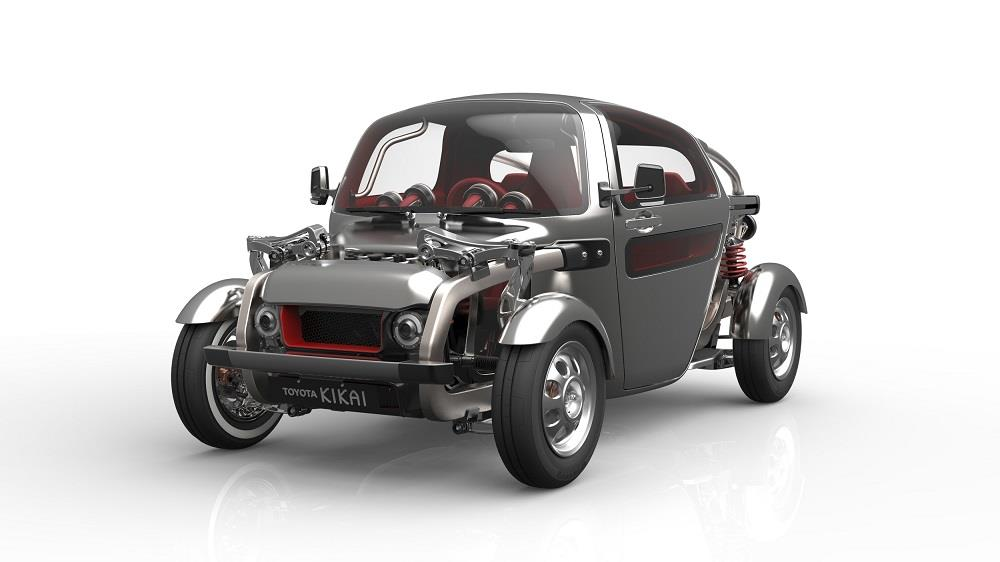toyota kikai un buggy hybride au salon de gen ve vid o. Black Bedroom Furniture Sets. Home Design Ideas
