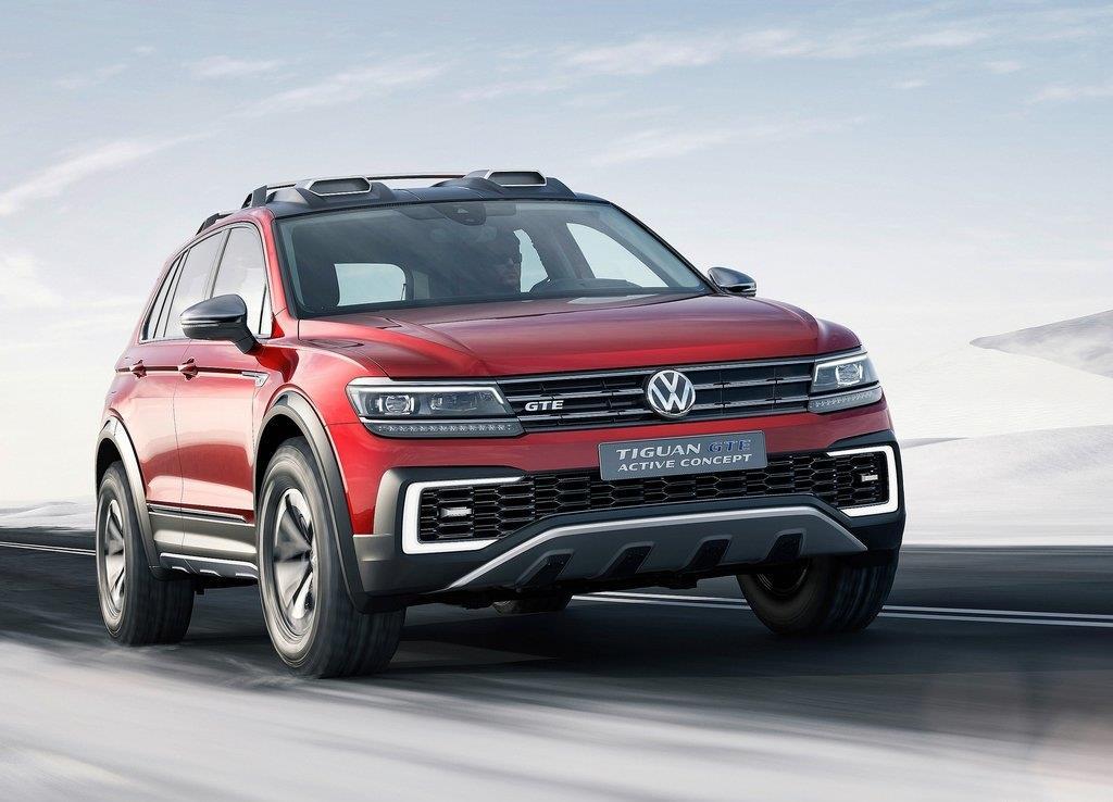volkswagen tiguan gte l hybride 4 roues motrices pour les usa. Black Bedroom Furniture Sets. Home Design Ideas