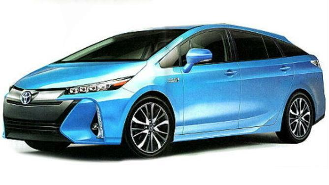 toyota prius 4 jusqu 55 km d autonomie lectrique. Black Bedroom Furniture Sets. Home Design Ideas