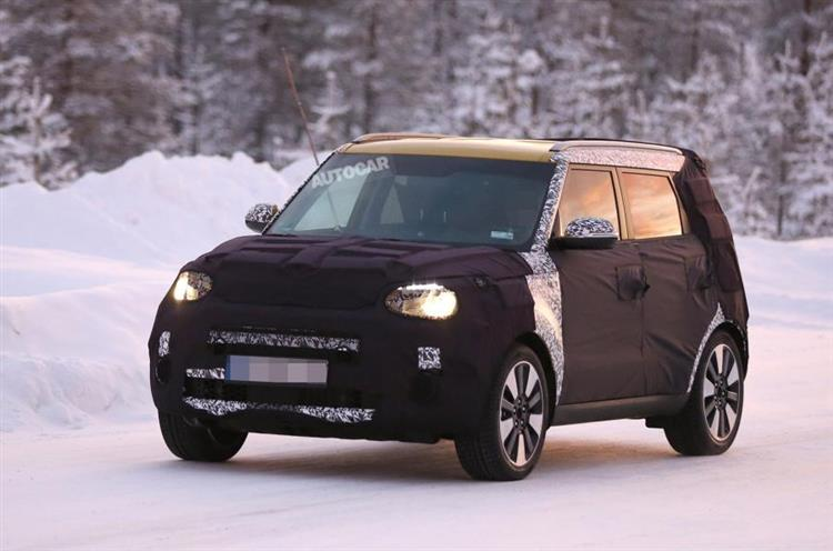 kia soul ev une autonomie en hausse pour 2017 photos. Black Bedroom Furniture Sets. Home Design Ideas