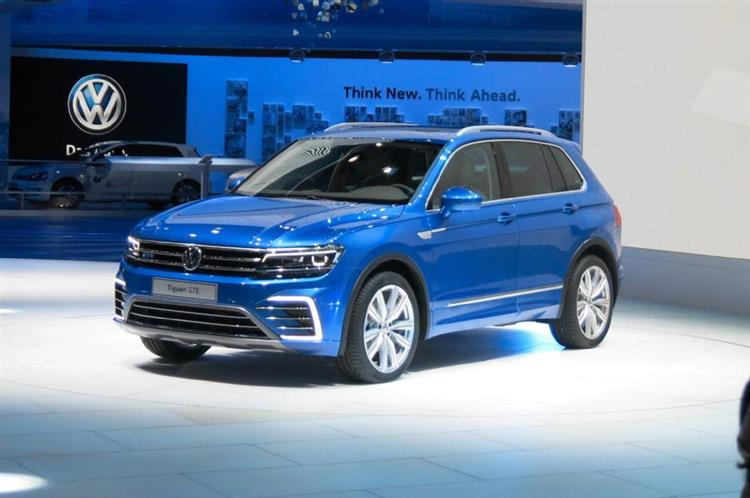 volkswagen tiguan gte le grand absent du mondial de paris. Black Bedroom Furniture Sets. Home Design Ideas