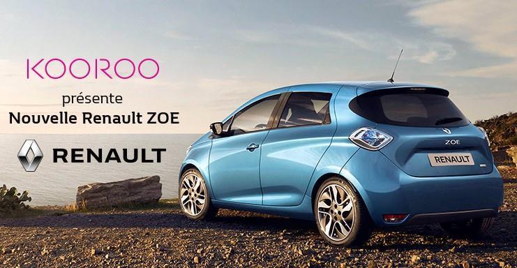 Renault ZOE fait sa promo sur Vente Privée — Electrique