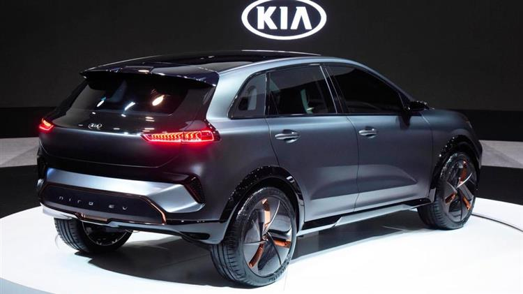 kia niro ev l lectrique avec 383 km d autonomie photos. Black Bedroom Furniture Sets. Home Design Ideas