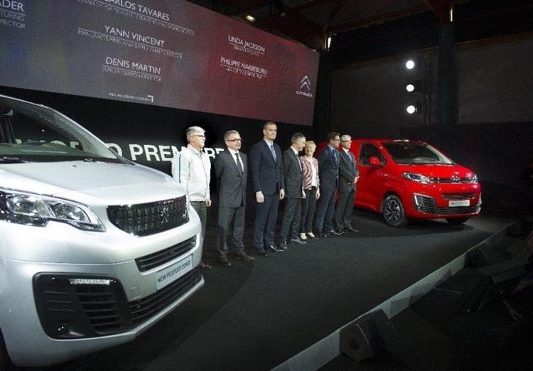 Dès la mi-2020, les Citroën Jumpy et Peugeot Expert seront déclinés dans une version 100 % électrique destinée à répondre aux restrictions de circulation croissantes