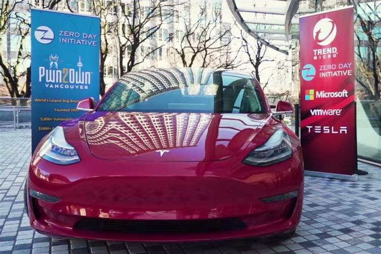 Pwn2Own : une Tesla Model 3 piratée via son navigateur web