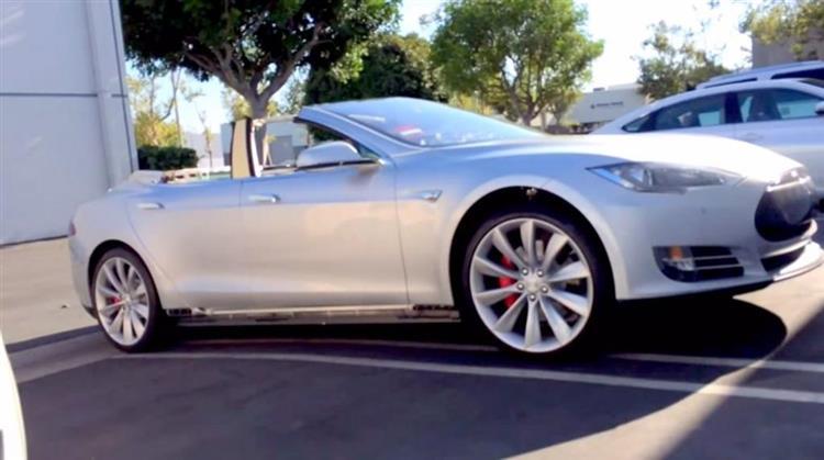 Tesla Model S : un cabriolet et un coupé en préparation ...
