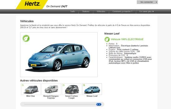 la nissan leaf chez hertz on demand. Black Bedroom Furniture Sets. Home Design Ideas