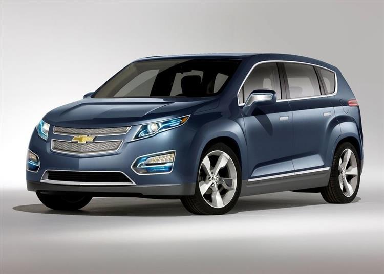 chevrolet crossvolt un suv hybride rechargeable photos. Black Bedroom Furniture Sets. Home Design Ideas