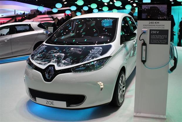 la nouvelle renault zoe a t d voil e au salon automobile de gen ve 2015. Black Bedroom Furniture Sets. Home Design Ideas