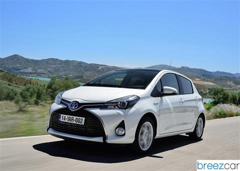 toyota yaris hybrid prix consommations. Black Bedroom Furniture Sets. Home Design Ideas