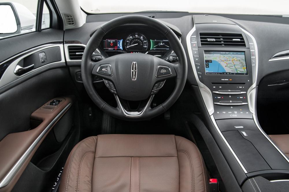 2016 Lincoln Mkz Sedan >> Essai Lincoln MKZ Hybrid : l'autre Ford Mondeo (+ photos)