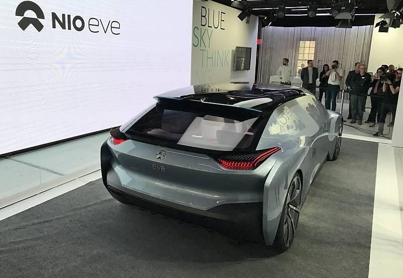 voiture lectrique nio lancera un mod le autonome en 2020. Black Bedroom Furniture Sets. Home Design Ideas