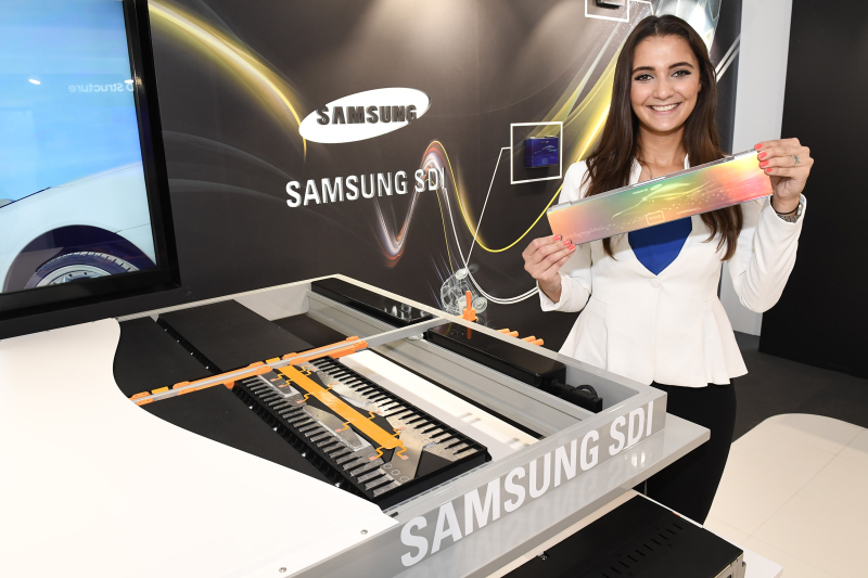 Samsung batteries modulaires