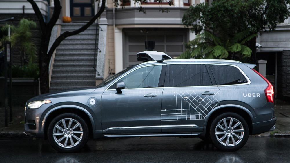 voiture autonome uber commande 24 000 volvo xc90 t8. Black Bedroom Furniture Sets. Home Design Ideas