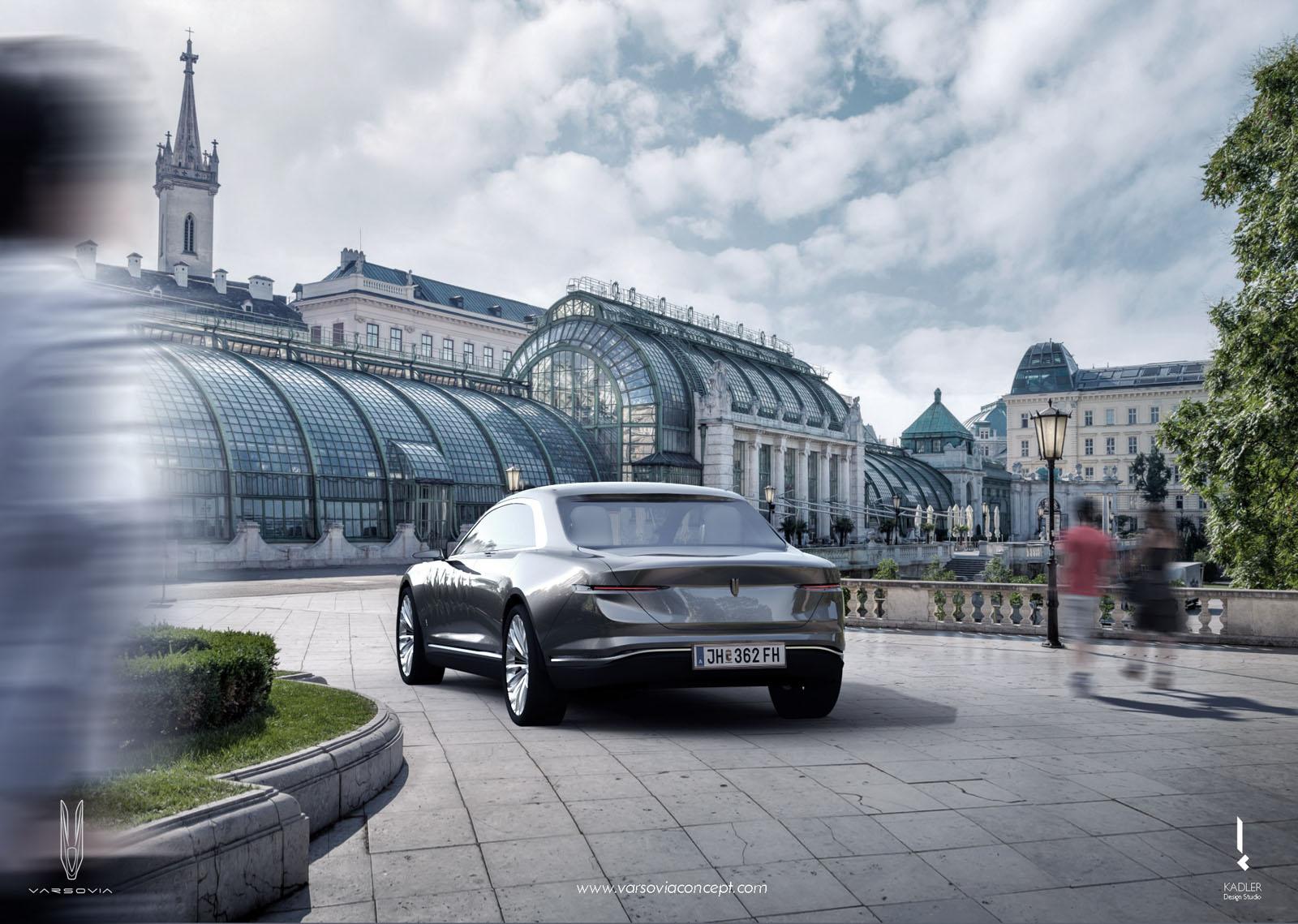 Varsovia L Tonnante Bentley Lectrique Con Ue En Pologne