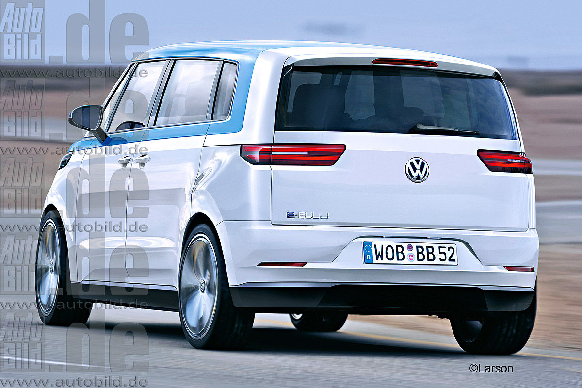 volkswagen combi de l lectrique pour sa renaissance. Black Bedroom Furniture Sets. Home Design Ideas