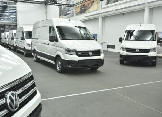 volkswagen e crafter l utilitaire z ro mission test en allemagne. Black Bedroom Furniture Sets. Home Design Ideas