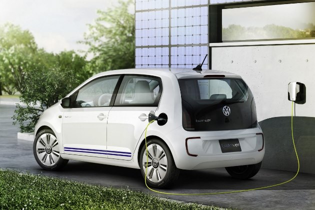 volkswagen twin up la citadine hybride diesel rechargeable. Black Bedroom Furniture Sets. Home Design Ideas